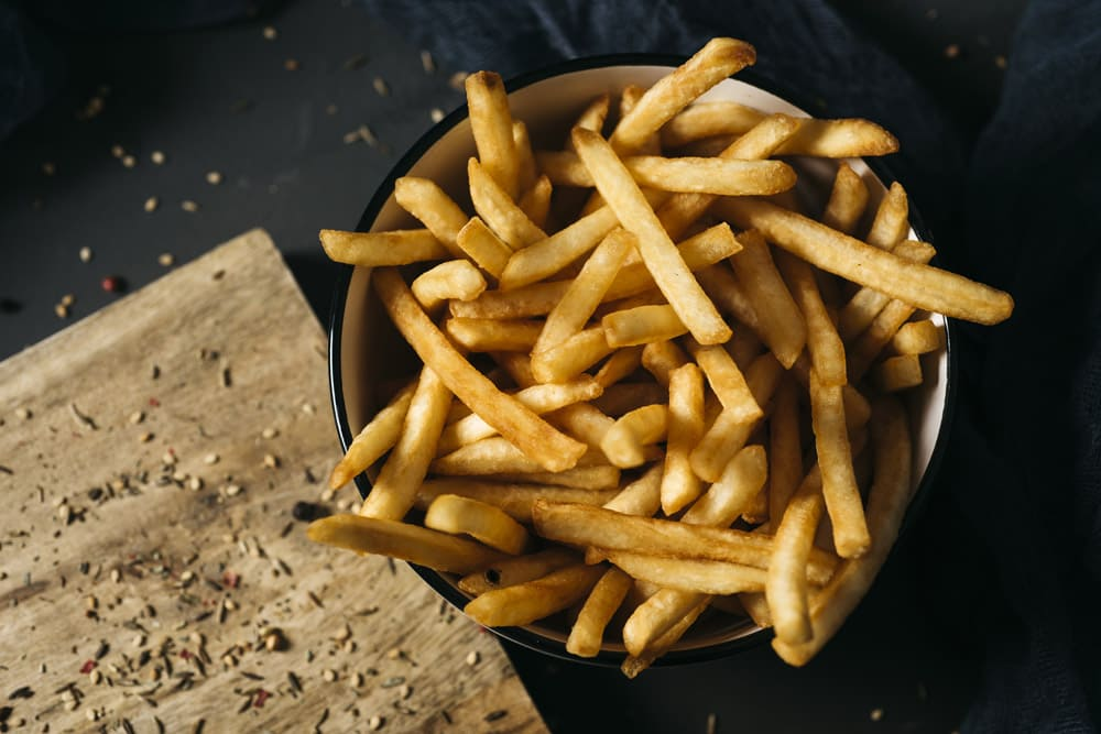 frites authentique cuisson